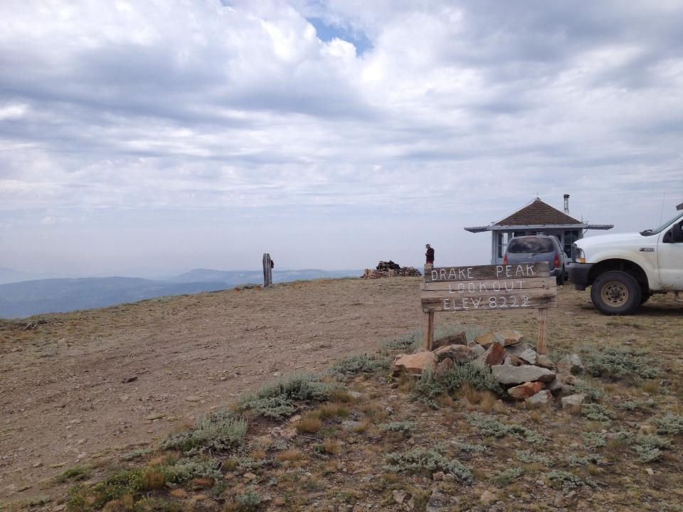 Rent Drake Peak Lookout in Oregon