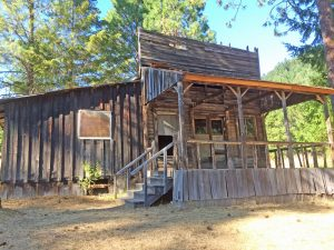 Golden - ghost town - the old mercantile from Golden, Oregon