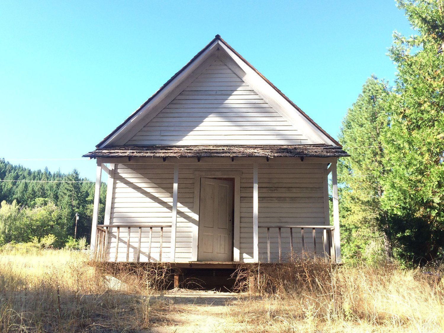 schoolhouse in Golden Oregon