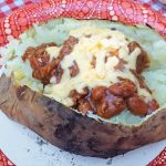 Baked Potato Bar for Camping Trips