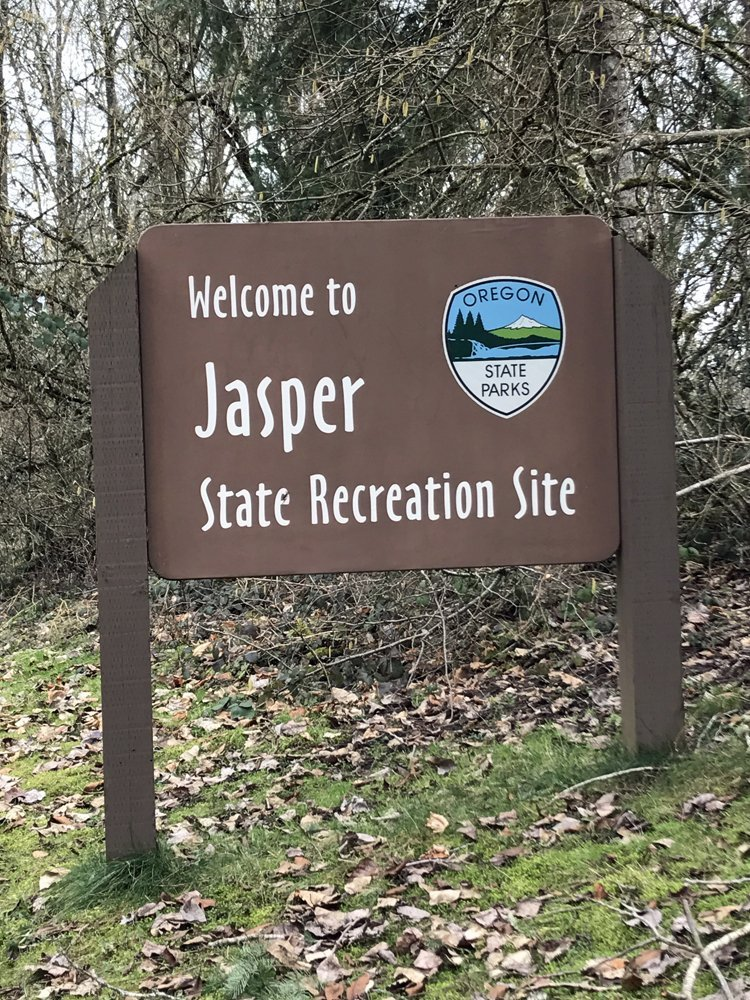 Jasper State Recreation Site - perfect for a winter walk with kids.