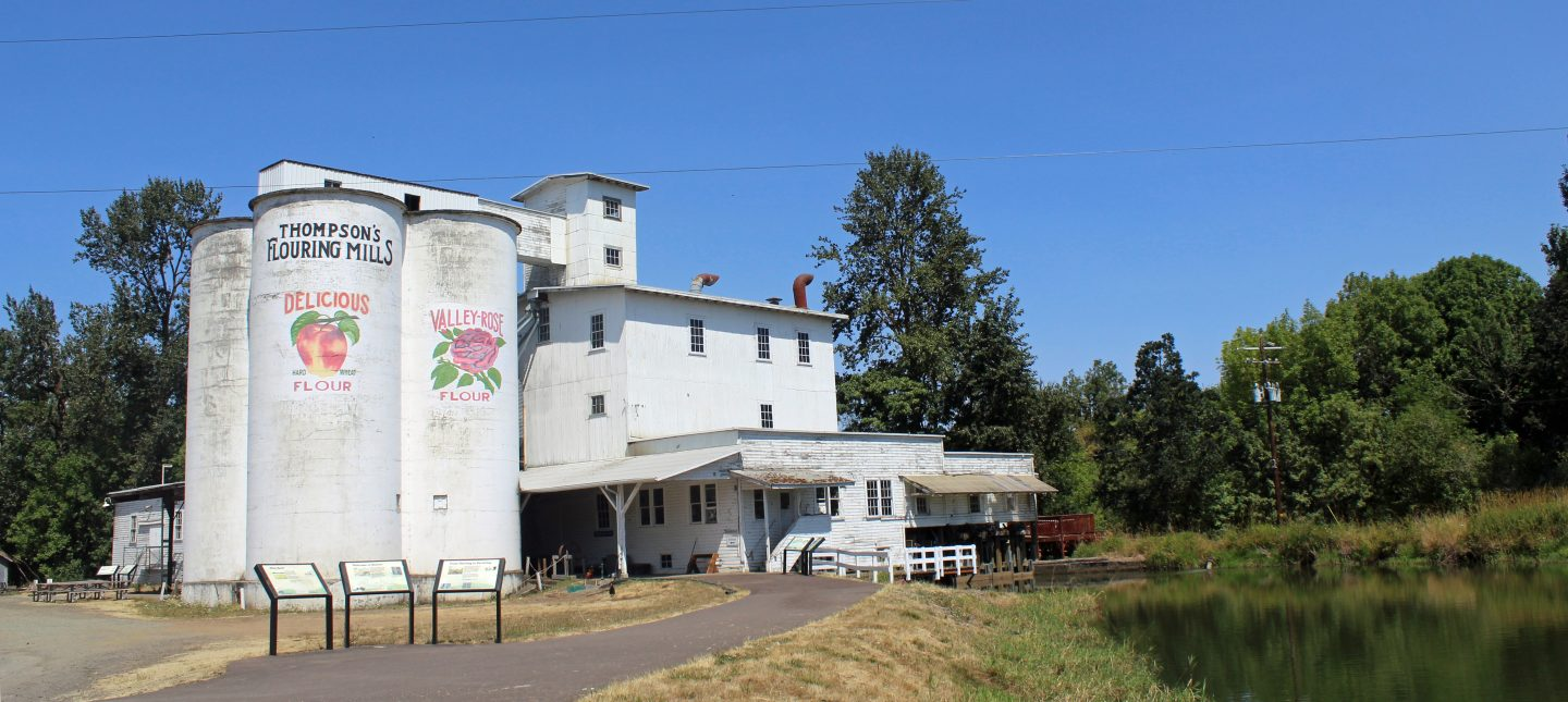 Thompson's Flour Mill - Oregon State Heritage Site