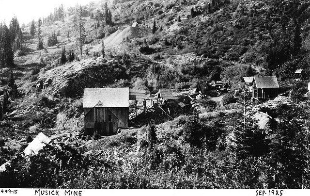 Musick Mine in 1925