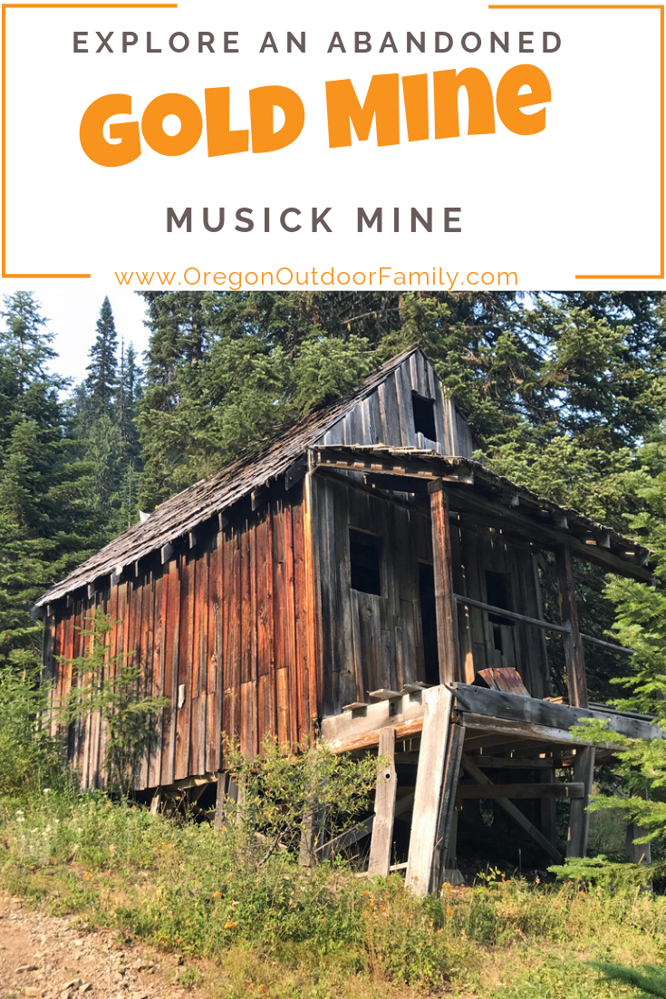 Explore Musick Mine in Oregon