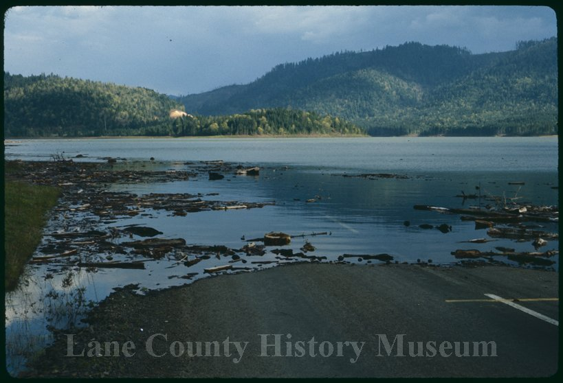 History of Fall Creek Lake in Oregon