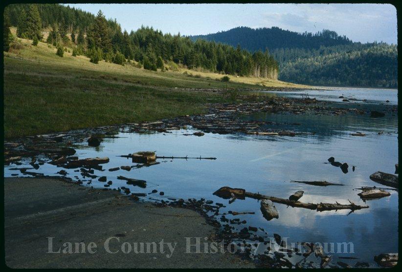 History of Fall Creek Lake in Oregon