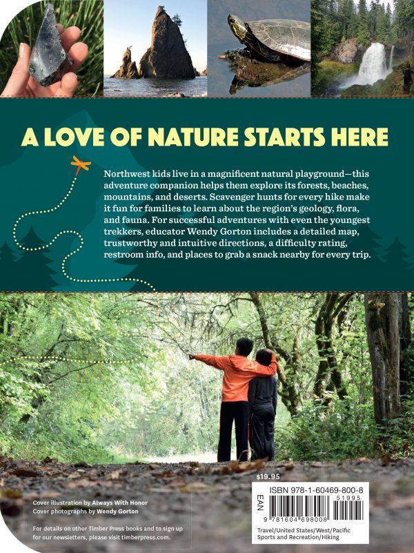 back of the book: 50 Hikes with Kids Oregon and Washington
