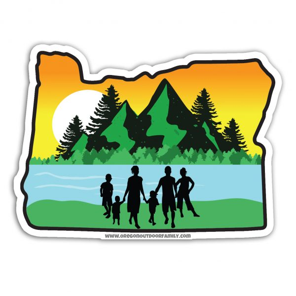 Oregon Outdoor Family decal