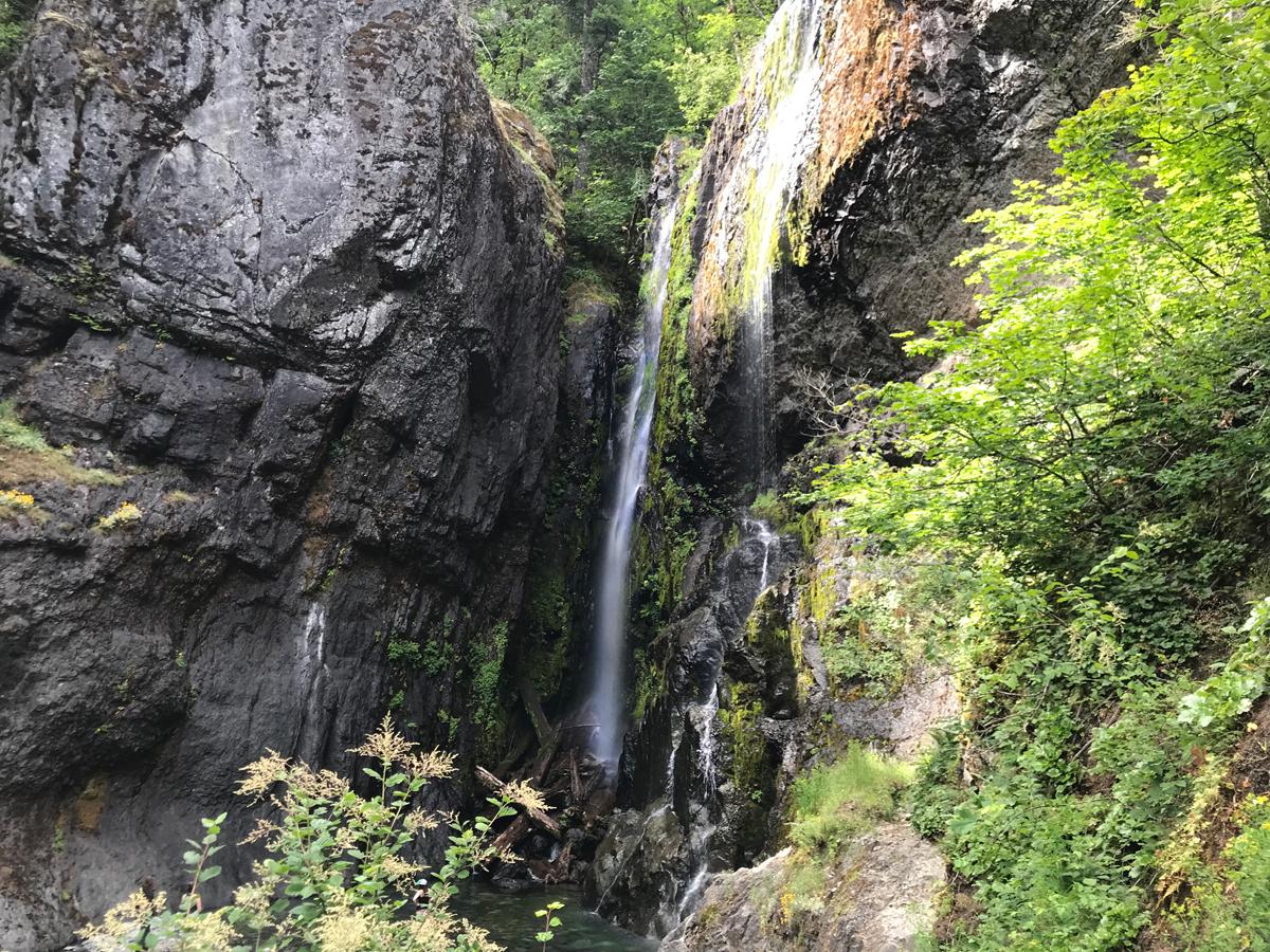 Henline Falls in July