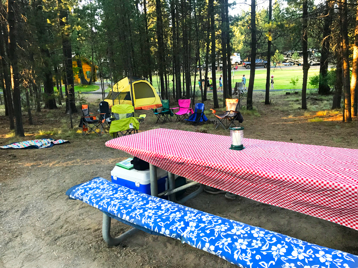 LaPine State Park camping