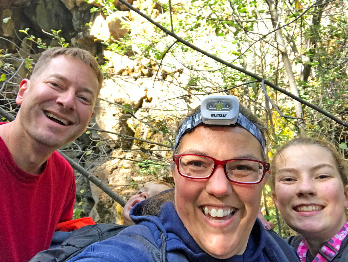 Hike the Lava River Cave with kids