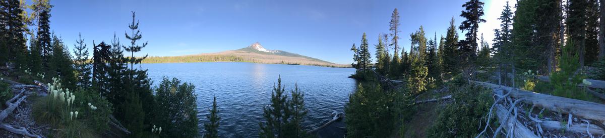 Mt Washington from Big Lake Campground