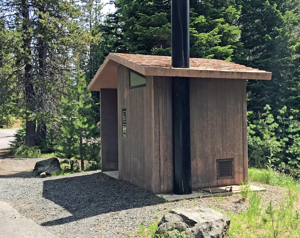 Bathrooms at Big Lake Campground