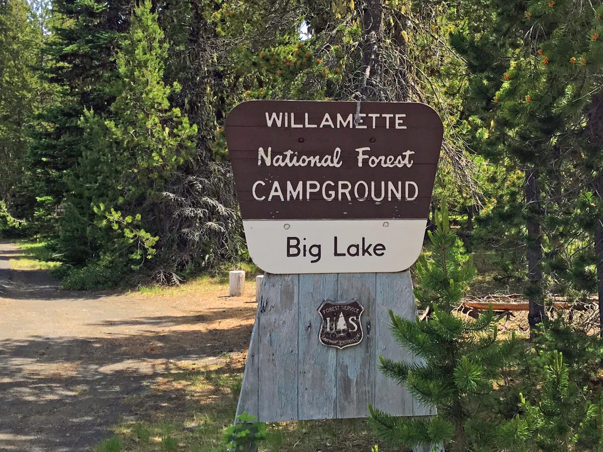 Big Lake in Oregon